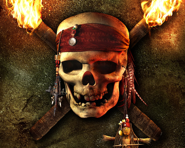 Pirates of the Caribbean - i liked very much the original artwork, i decided to reproduce it in Lightwave, very very funny!